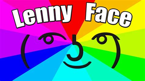 Lenny Face Meme - what is the meaning of lenny face the origin of the le lenny face meme youtube