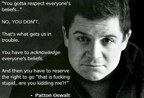 patton oswalt quote be kind patton oswalt quotes quotesgram