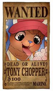 One Piece Wanted Poster Chopper