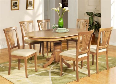 pc avon oval dinette kitchen dining table