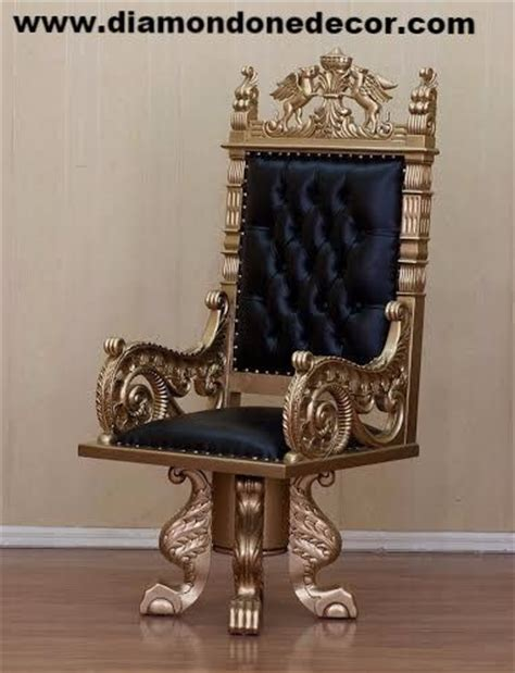 King Edwards Chair Replica by Louis Xv Baroque Reproduction Rococo King Throne