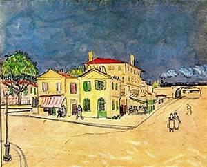 van gogh ecrivain arles 3 mai 1888 si l39art etait With peinture d une maison 2 vincent van gogh la maison jaune