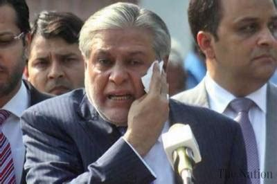ishaq dar lands  big trouble