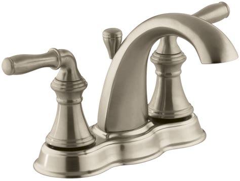 Kohler Devonshire Faucet Aerator by Kohler K 393 N4 Bv Brushed Bronze Devonshire Centerset