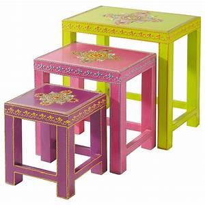 Table Gigogne Maison Du Monde : table basse gigogne enfant roulotte maisons du monde ~ Teatrodelosmanantiales.com Idées de Décoration