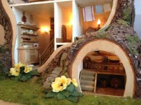 miniature tree house inspired by brambly hedge home design garden architecture magazine