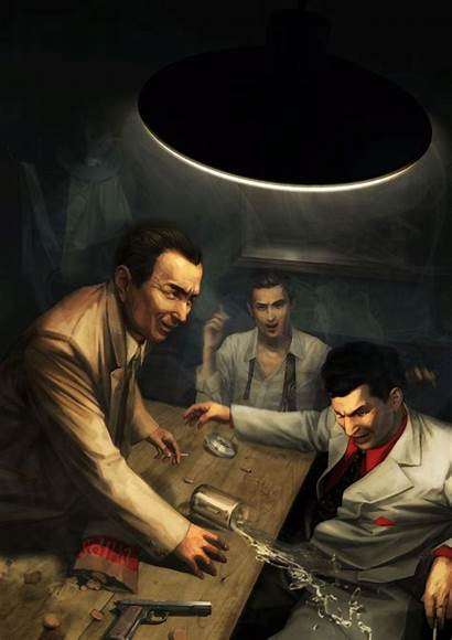 Mafia Artwork Ii Wallpapers Artworks Paint Painting