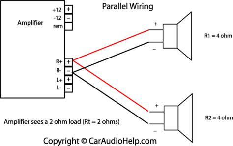 parallel speaker wiring art activities in 2019 car