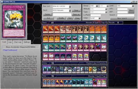 deck yugioh 2015 yu gi oh ygopro ocg deck volcanic by ygopropro on
