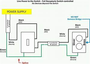 Light Switch Outlet Combo Wiring A Light Switch And Outlet On Same Circuit Wiring Switch Outlet