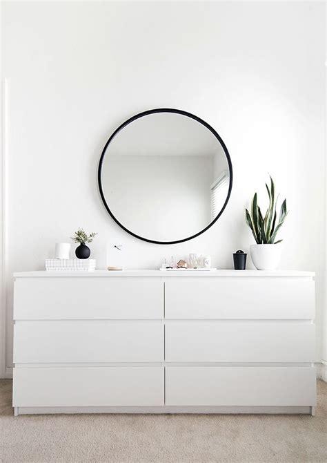 Runde Spiegel Mit Rahmen by Bedroom Organization Progress Schwarze Rahmen Runde