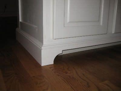 cabinet base molding toe cabinets and base cabinets on
