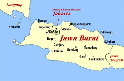 indonesia map jawa barat