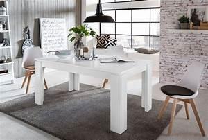 Esstisch Ausziehbar In Weiß : esstisch ausziehbar universal von trendteam weiss ~ Frokenaadalensverden.com Haus und Dekorationen