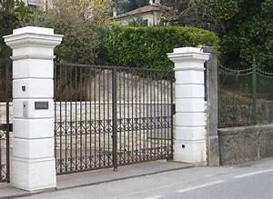 Casa immobiliare, accessori: Rivestimenti pilastri esterni