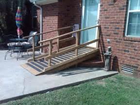 Wood Handicap Wheelchair Ramps