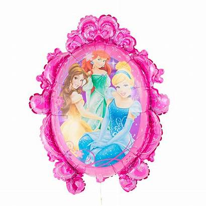 Princess Disney Mirror Balloon Helium Filled Inflated
