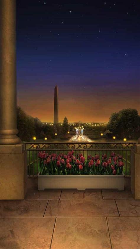 tulipanes de presentacion cenario anime fundo de