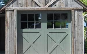 bricoman porte de garage en bois With porte de garage enroulable et porte style atelier en bois