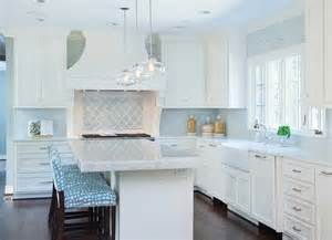 Blue Kitchen Tile Backsplash Blue Tile Backsplash Design Ideas