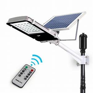 New remote control w solar powered panel leds