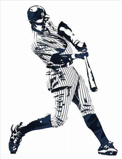 Yankees Aaron Judge York Pixel Hamilton Joe