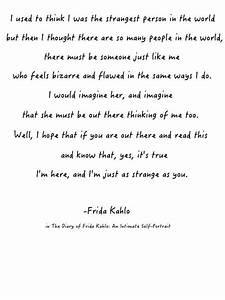 Frida Kahlo Quo... Frida Kahlo Love Quotes