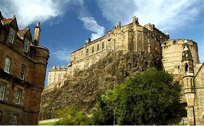 Edinburgh Castle Scotland Wallpapers Facts Menschengemacht Abyss