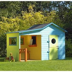 Maison Enfant Bois : maisonnette pas cher ~ Teatrodelosmanantiales.com Idées de Décoration