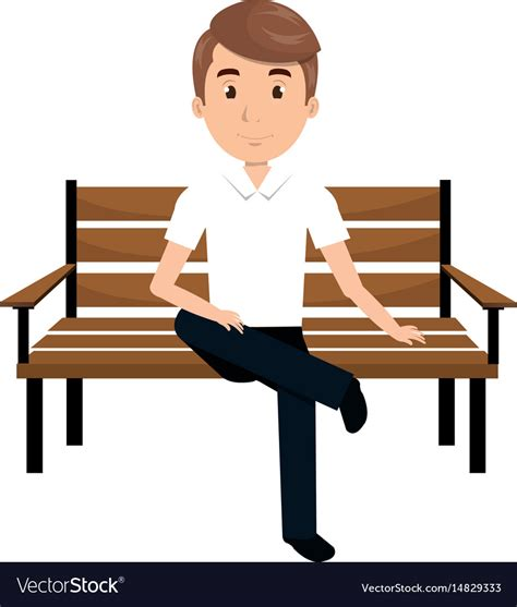 library  people sitting  bench clip art royalty