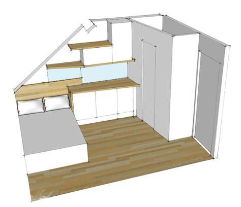 chambre studio mezzanine chambre comble
