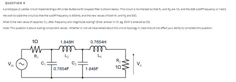 Solved Question Prototype Ladder Circuit Implement