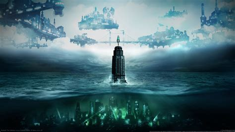Bioshock Background Bioshock Tower Hd Wallpapers Desktop And Mobile Images