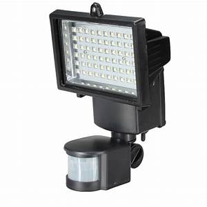 Flood light with power outlet : Motion sensor solar power ultra bright security led light