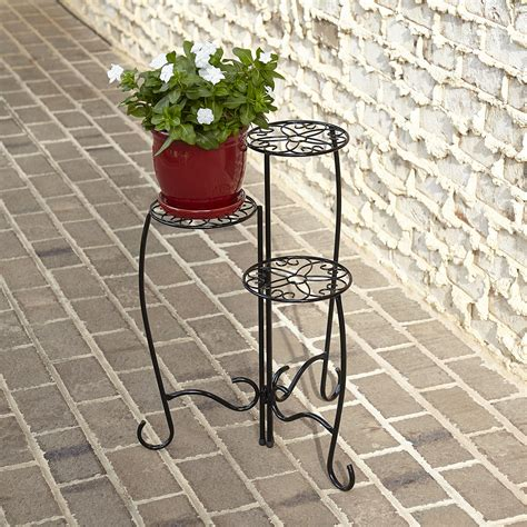 Patio Plant Stands Tiered by Three Tier Plant Stand Outdoor Living Outdoor Decor