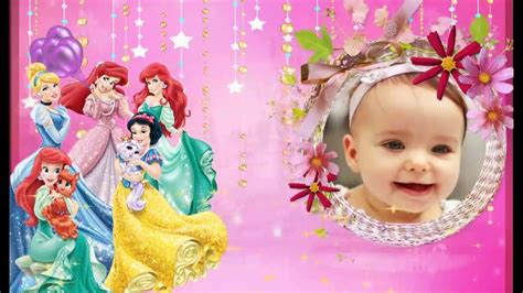 princess theme whatsapp birthday invitation youtube