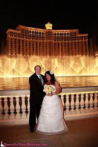 Wedding photography at bellagio fountain show yelp for Vegas wedding show
