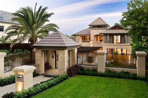 architecture home plans high end luxury modern residence with awesome interiors