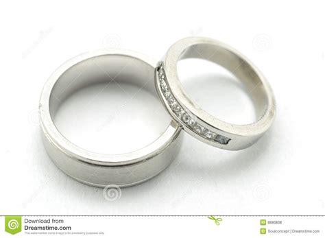 pair of wedding bands stock photo image of jewelery