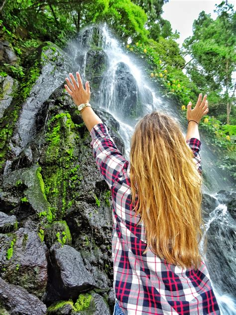 waterfalls  discover   azores  bucket list