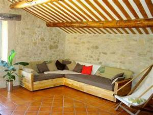 10 diy chic pallet sofa ideas 99 pallets With diy sectional sofa ideas