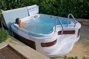 original pichler luxus outdoor whirlpool sania 1550 deluxe With whirlpool garten mit fertigbeton balkon preis