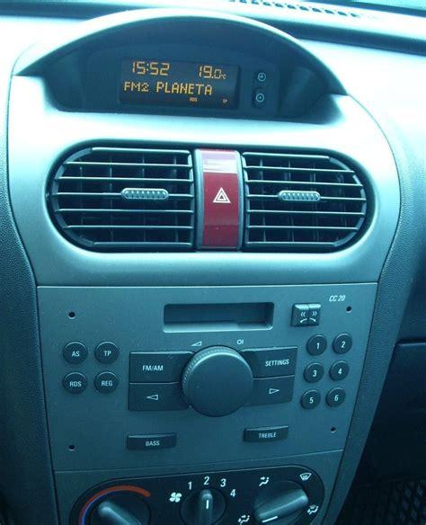 opel corsa radio opel corsa c zamiana radio kasetowe na cd mp3 elektroda pl
