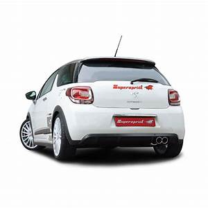 Citroen Ds 3 : citroen ds3 racing 16v 203 hp 2011 supersprint full exhaust system official videos ~ Gottalentnigeria.com Avis de Voitures