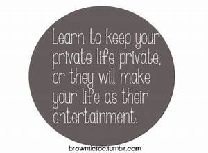 Quotes about Re... Keep Privacy Quotes