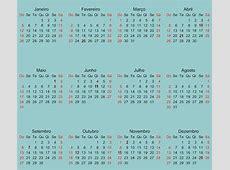 Feriados 2018 Nacionais takvim kalender HD
