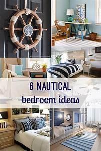 Nautical, Bedroom, Decor, Ideas