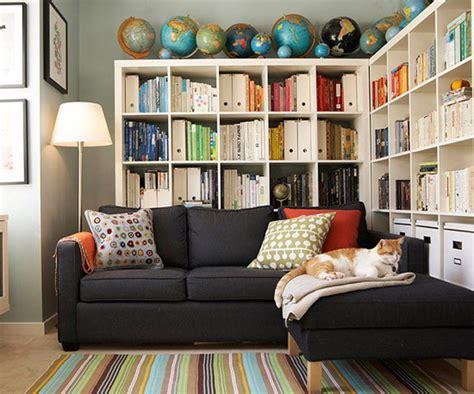 small home storage ideas decorating bookshelves