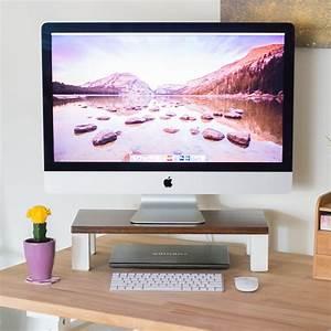 Make An Easy DIY Monitor Stand By Brittany Goldwyn