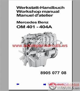 Mercedes Benz 300  400 Series Engine Service Manual